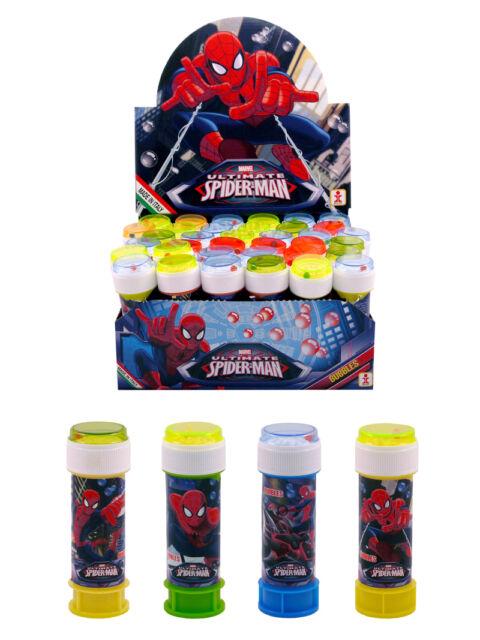 SPIDERMAN BULLES choisir la quantité Garçons/Enfants Remplissage Sac Soirée