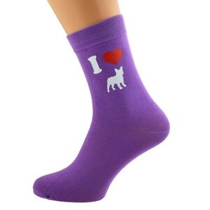 French bulldogs Dog Owners Socks Novelty Gift I Love French Bulldog dog Socks