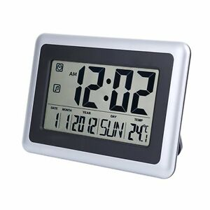 EWTTO 2138 Large Display Digital Wall Desk Alarm Clock with Date