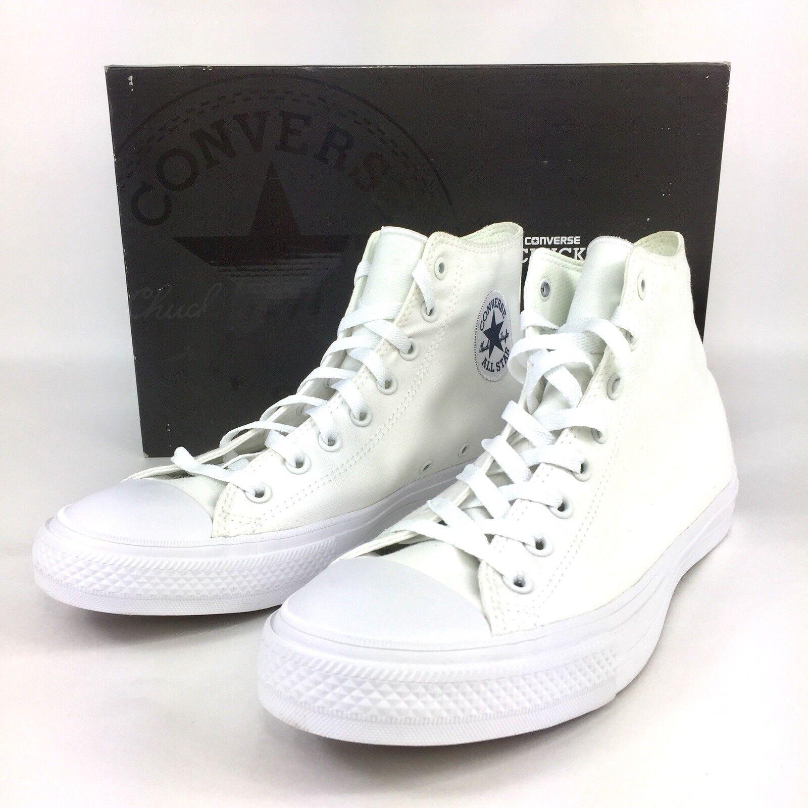 Converse White Chuck Taylor All Star II High Triple White Converse 150148C Taglia 11 d8ca08