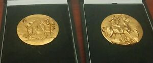 2-Very-Rare-Gold-Coins-Medals-Signed-Salvador-Dali-As-seen-on-Beverly-Hills-Pawn