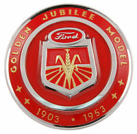 1953 Ford Tractor Golden Jubilee Hood Emblem Part Naa-16600-a