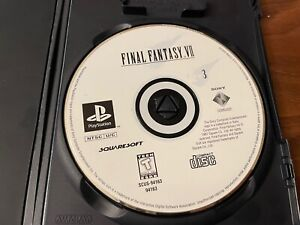Final Fantasy VII - Disk 3 Only (PlayStation 1, PS1, PSX 1997) - Disc Only/Loose