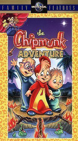 Buy The Chipmunk Adventure Vhs 1998 Clamshell Online