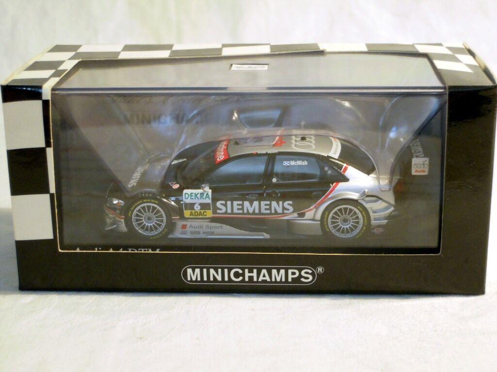 Minichamps 400051506  Audi A4, DTM 2005, Abt Sportsline  6 A. McNish, NEU & OVP  | Großartig