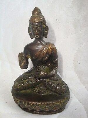 Antiquitäten & Kunst Internationale Antiq. & Kunst Antike Buddha Tempel Figur Aus Bronze