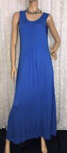 CAPTURE-SIZE-18-LONG-BLUE-JERSEY-DRESS