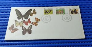 1982 Singapore First Day Cover Butterflies Special Stamp Issue