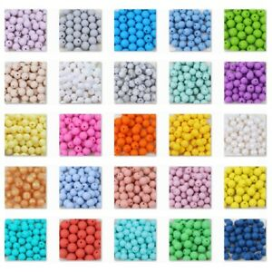 10-Perle-12mm-Silicone-Couleur-au-Choix-Creation-Bijoux-Attache-tetine