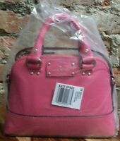Kate Spade Mini Rachelle Wellesley Cabaret Pink Crossbody Purse Bag Satchel