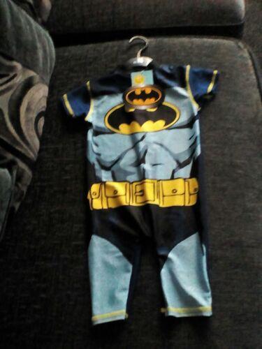 babys Batman 18-24ms Swimmng Suit