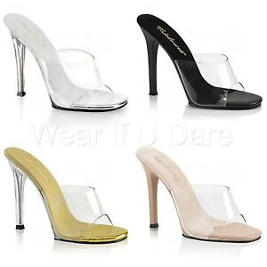 ba24646ab39 Details about PLEASER FABULICIOUS GALA-01 POLE DANCING BIKINI COMPETITION  MULES SANDALS