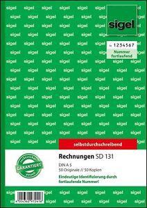 sigel-Formularbuch-034-Rechnung-034-fortlaufende-Nummerierung-SD131