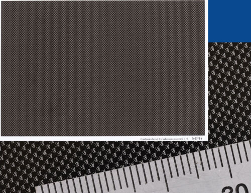 Gradation Pattern Type 1-S Model Factory Hiro Carbon Decal Series