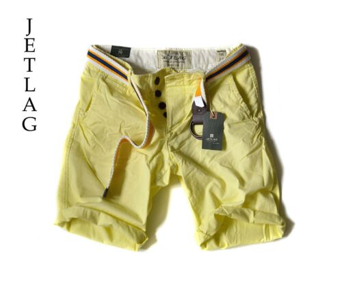 "belt/"" Chino*Jet Lag JETLAG Short Pant /""17-146 shorts yellow mit Gürtel *NEU"