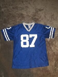NFL Team Indianapolis Colts #87 Reggie Wayne Jersey Shirt Kids XL(18  for sale