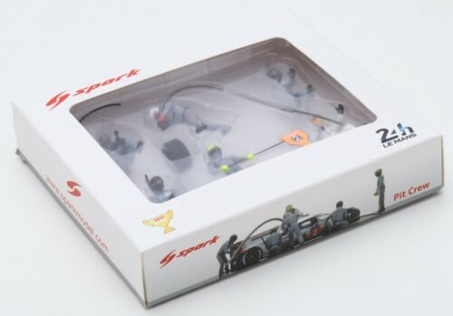 Figures Set Mechanic Porsche 919 Winner 24H Le Mans 2017 SPARK 1:43 43AC011