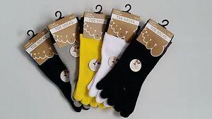 2-Paar-Zehensneaker-Zehensocken-Sneaker-Socken-5-einzelne-Zehen-Baumwolle-Toe