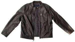 Andrew-Marc-Dark-Brown-Jacket-Size-L-RRP-180-225