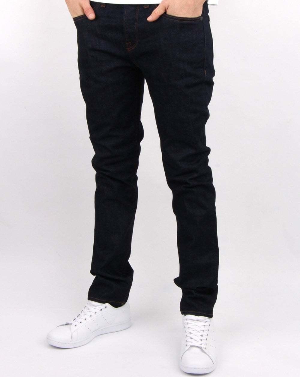 Pretty Pretty Pretty verde Da Uomo erwood Jeans Slim Fit in 6 mese Wash (blu scuro indaco) 033d2c