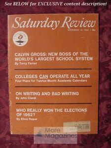 Saturday-Review-December-15-1962-ELMO-ROPER-JOHN-CIARDI-John-Coltrane