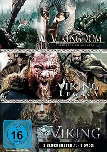 WIKINGER-BOX-PURCELL-DOMINIC-MALTHE-NATASSIA-FAIRBRASS-CRAIG-3-DVD-NEUF