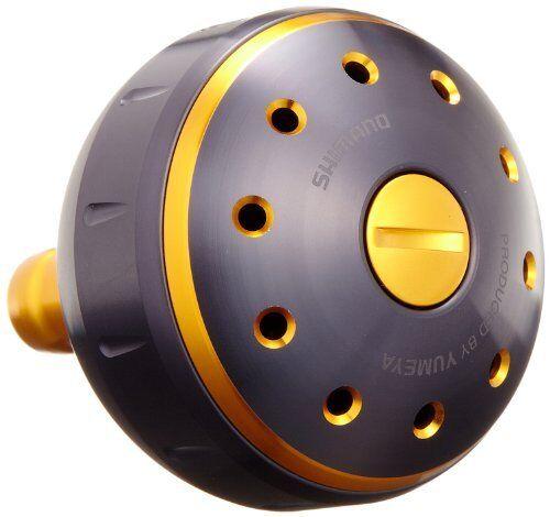 New Shimano Reel Yumeya Aluminum Round Power Handle Knob L Knob for TypeB Japan