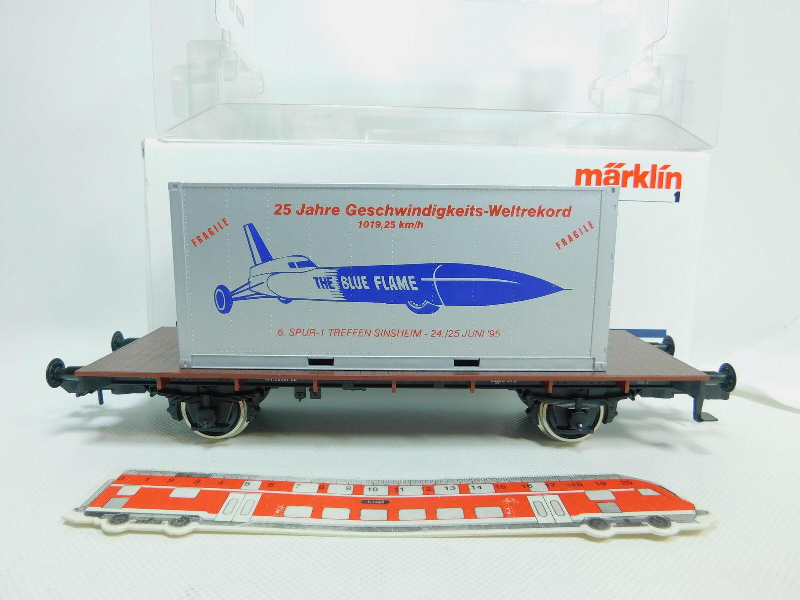 BO268-2  Märklin Spur 1 AC 80015 Museumswagen Sinsheim 1995 DB, NEUWOVP  | Modisch