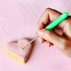 2x-Reissnadel-Modellierwerkzeug-Markierungsmuster-Puderzucker-Sugarcraft-Cake-FY