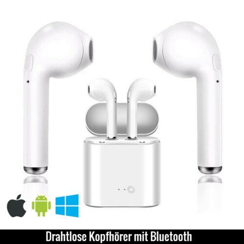 Drahtlose Kopfhörer mit BluetoothHeadset in weißNur-im-Ohr Kopfhörer