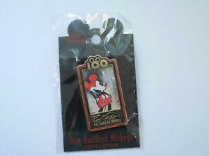 Neuf - Disney Dlr One Hundred Mickeys ( Mm 046) Poches Broche 12904