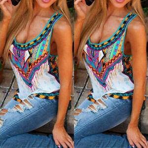Chaleco-de-verano-para-mujer-bohemia-Floral-Sin-Mangas-Playa-Camisa-Blusa-Camisetas-Tubo-Camiseta