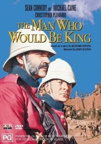 The Man Who Would Be King Sean Connery Michael Caine Region 4 DVD EXC