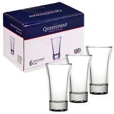 Set Of 6 12 24 60ml Shot Glasses Bar Tumblers Shot Vodka Liquor Party Present