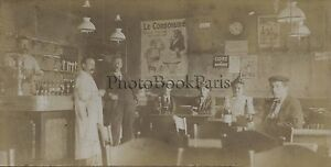 Au-cafe-France-Le-Consomme-Photo-amateur-vintage-citrate-1900