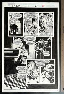 FANTASTIC FOUR 2099 #1 RICK LEONARDI ORIGINAL ART
