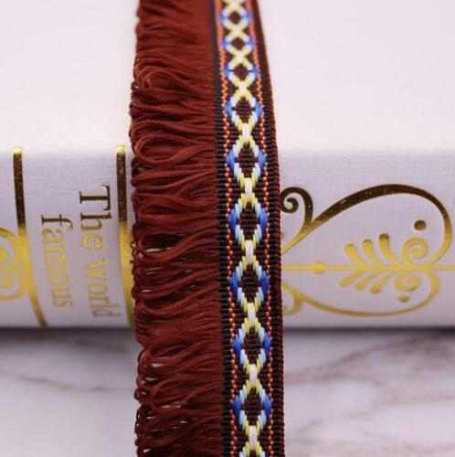 Quaste Spitze DIY Ethnischer Stil Kleidung Zubehör Dekoration Vorhänge//Schals