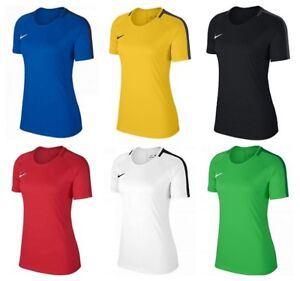 Nike-Dry-Academy-Womens-T-Shirts-Tee-Ladies-Gym-TShirts-Tops-Training-Football