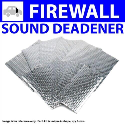 Heat /& Sound Deadener Ford Van 1992 Firewall Kit 9261Cm2 zirgo ZIR79765 cool
