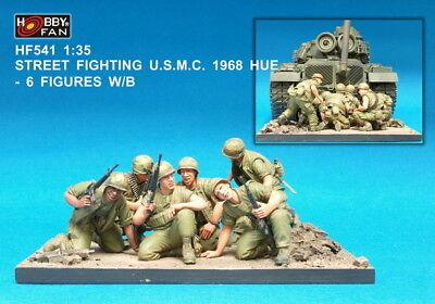 2 Figures w//Sandbags Hobby Fan 1//35 HF-516 US Marine LVTP-5 Crew