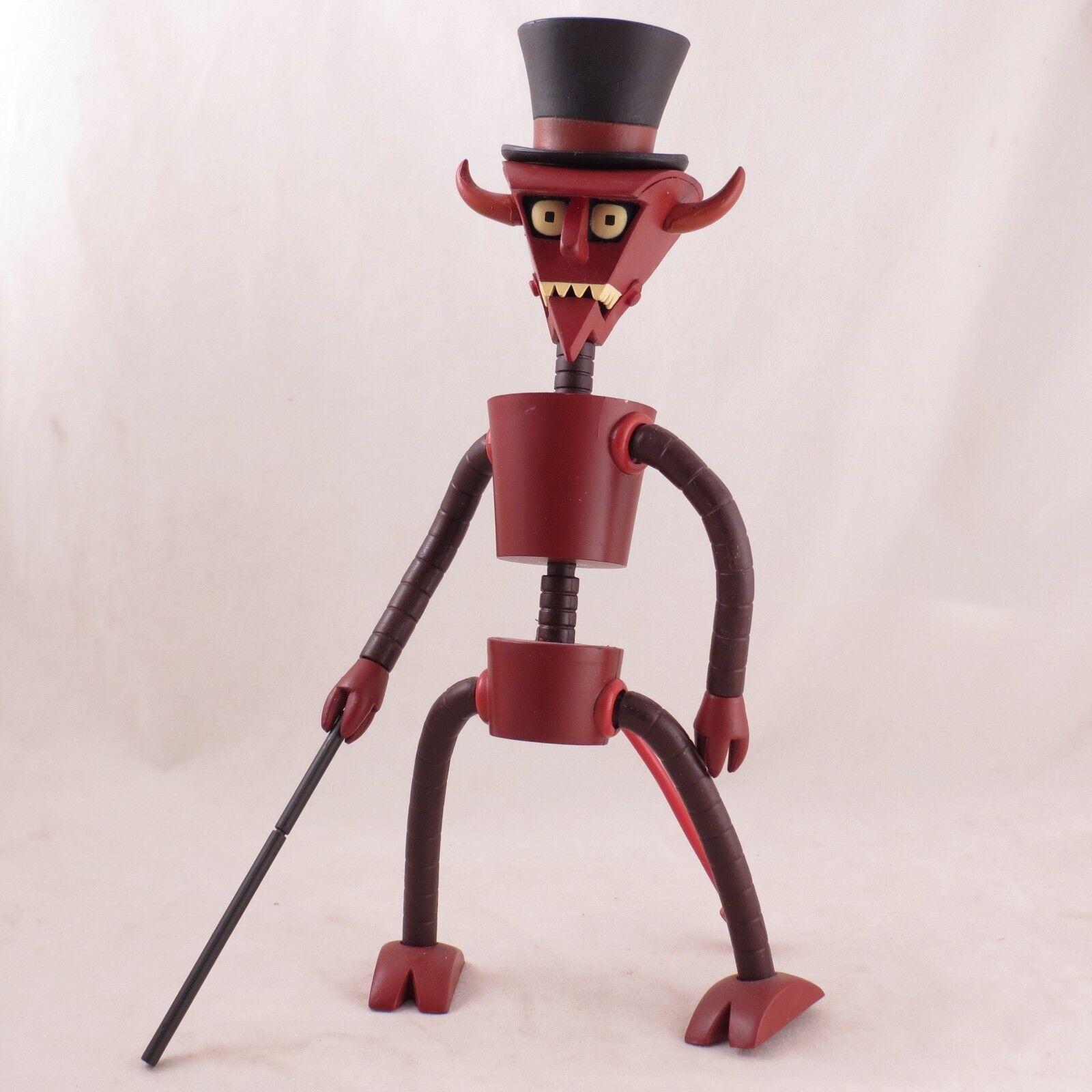 Futurama Robot Devil Build-a-bot Suelto Completo Figura de acción por Juguetenami