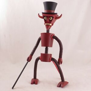 Futurama-Robot-Devil-build-a-bot-loose-complete-action-figure-by-Toynami