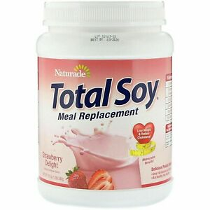 Total Soy, Weight Loss Shake Meal Replacement, Reduce Cholesterol, 540g/507g Tub