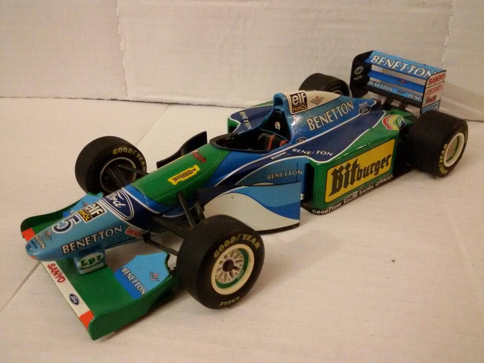 Pauls Model Art, Benetton Ford B194, Michael Schumacher,1994, Formel1, 1 18  | Clever und praktisch