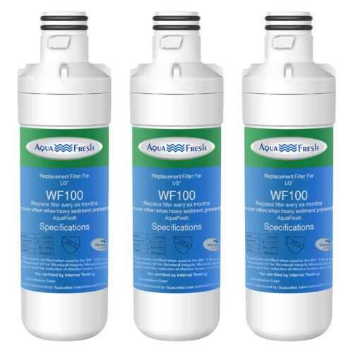 Replacement Water Filter for LG LMXS30796S Smart Refrigerator /& Odor Remover