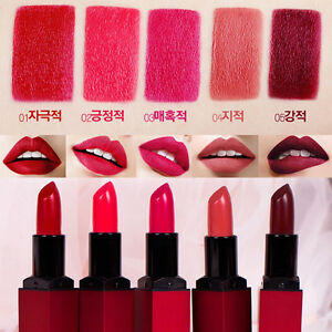 BBIA] Red Series Velvet Matte Last Lipstick (CHOOSE COLOR) 3.2g ...