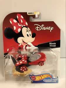 Hot-Wheels-Personnage-Voitures-Disney-Minnie-Mouse-FYV82-Neuf