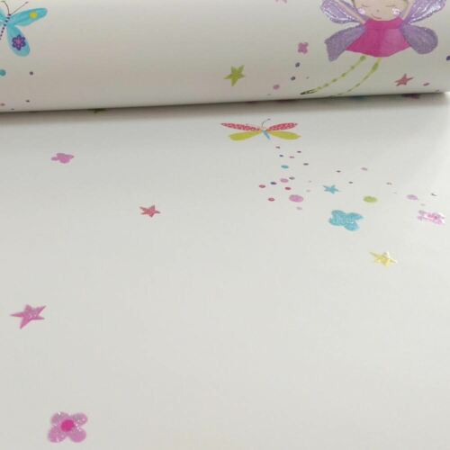 ARTHOUSE 667101 NEW WHITE FAIRY DUST GLITTER WALLPAPER ROLL