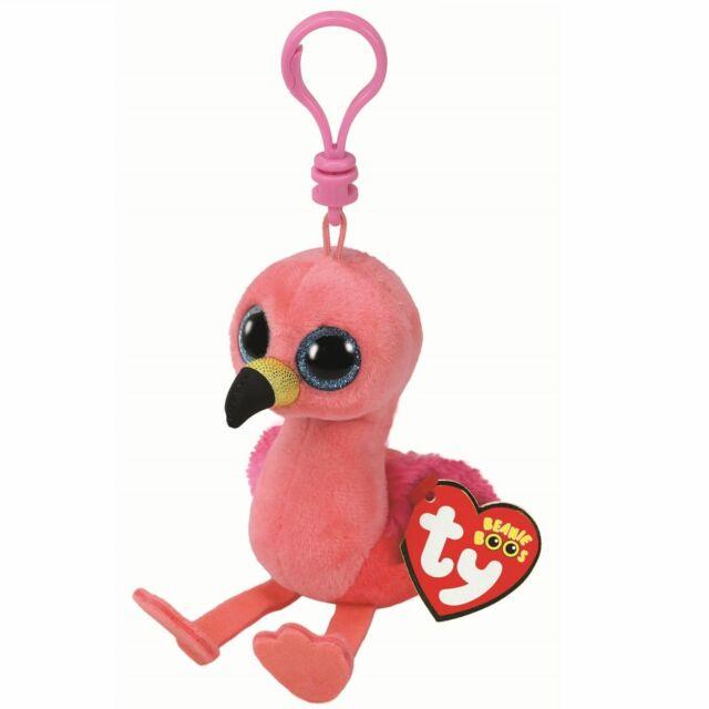 1c262e71e56 Ty Beanie Babies Boos 35210 Gilda The Flamingo Boo Key Clip for sale ...