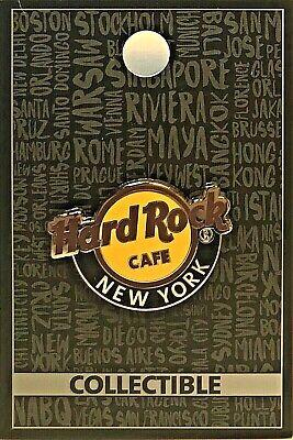 2017 HARD ROCK CAFE NEW YORK CITY MARQUEE//FACADE PIN